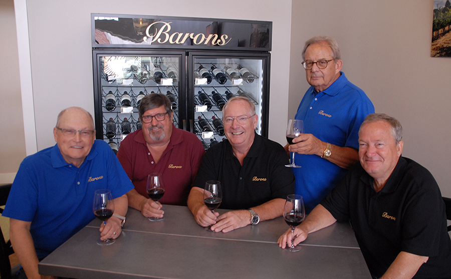 Current Partners at Baron's Winery